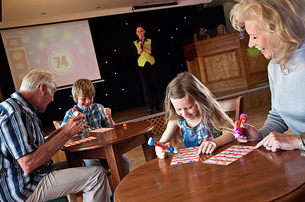 Holiday park events diary