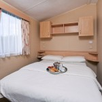 Gold Caravan Accommodation - Double Bedroom