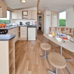 Gold Caravan Accommodation - Kitchen