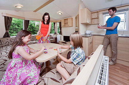 Caravan holiday prices