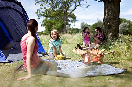 Waldegraves - Campsites in Essex