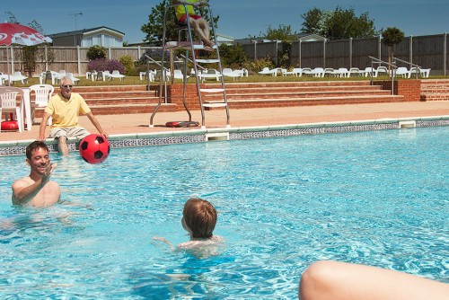 Waldegraves holiday park, Essex - Swimming Pool