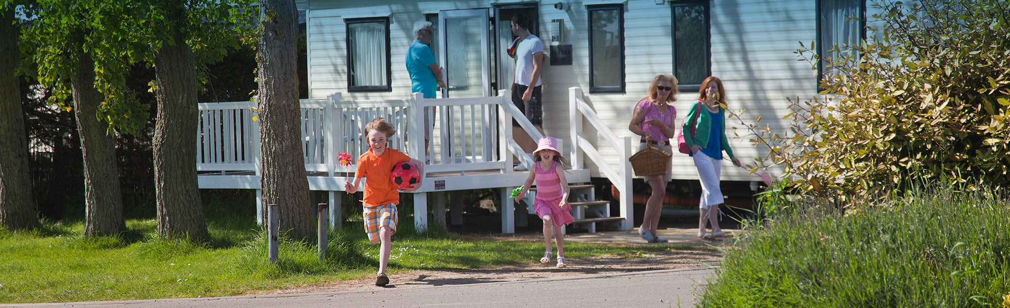 Waldegraves holiday park, Essex - Caravan holidays