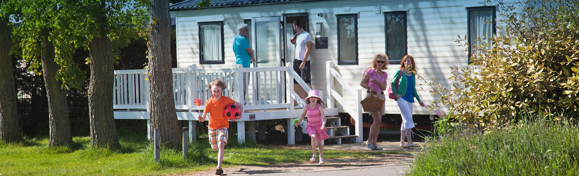 Caravan holidays Essex - family caravans