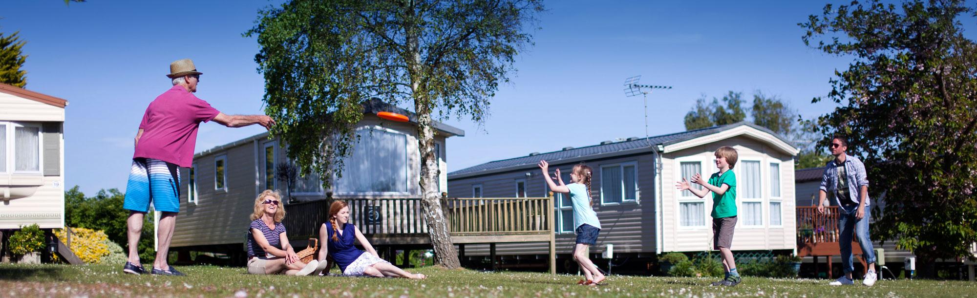 Caravan holidays Essex - Waldegraves holiday park