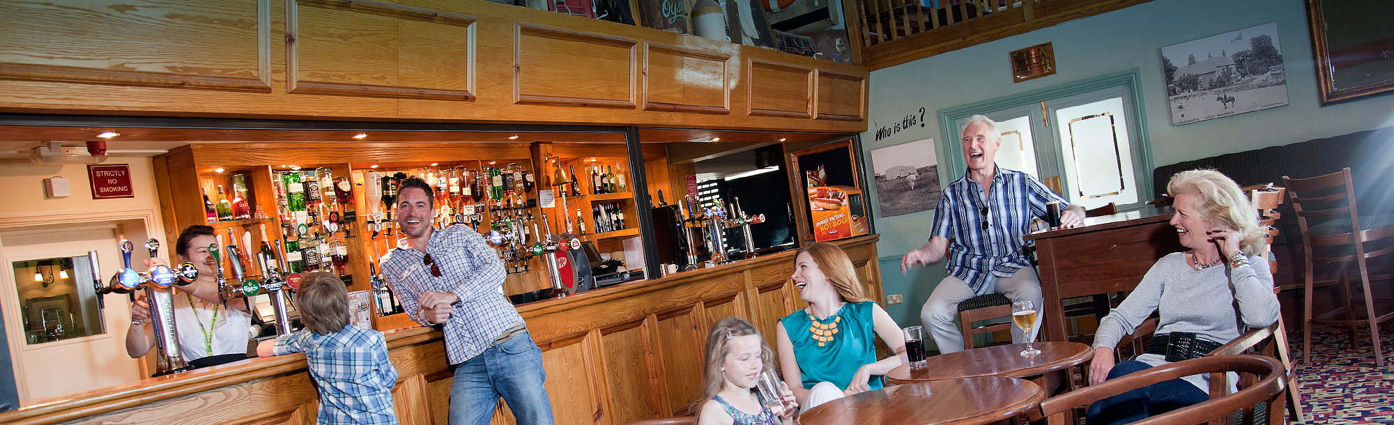 Holiday park entertainment - bar and restaurant