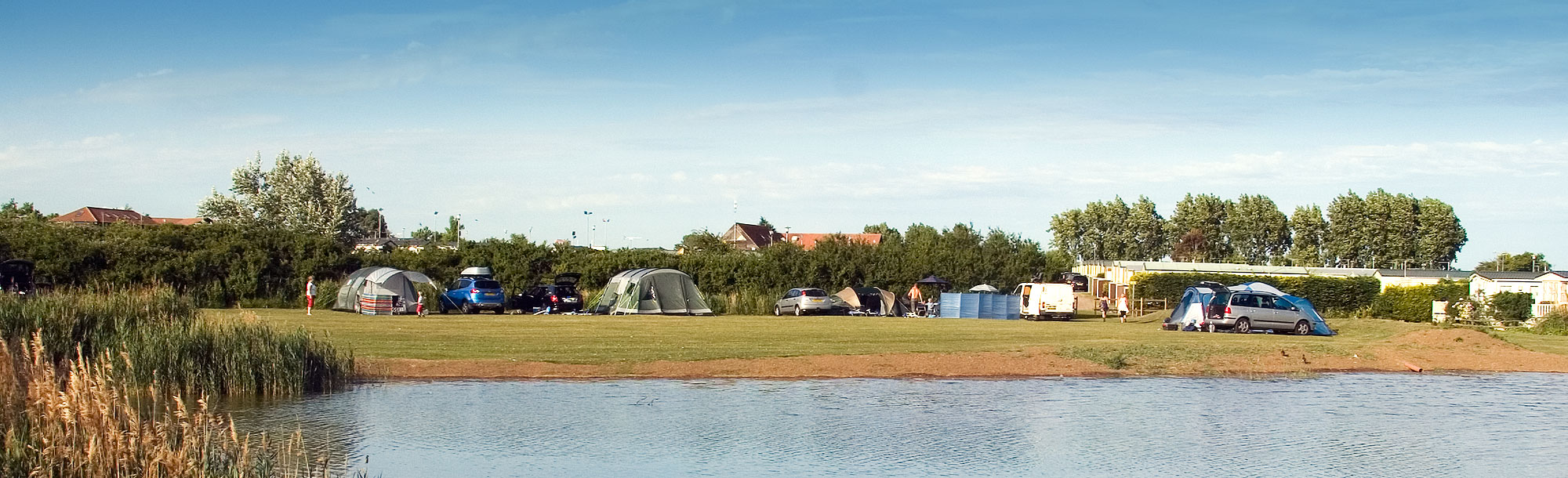 Essex campsite - touring pitches