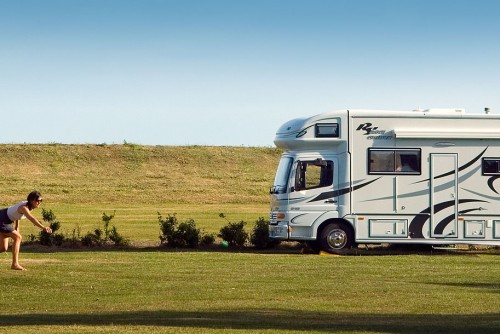 Essex campsite - pitches for RV's