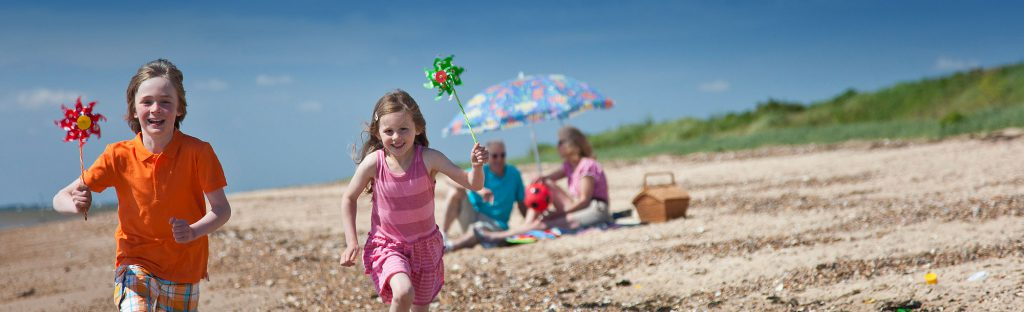Holidays in Essex - Visit the beach