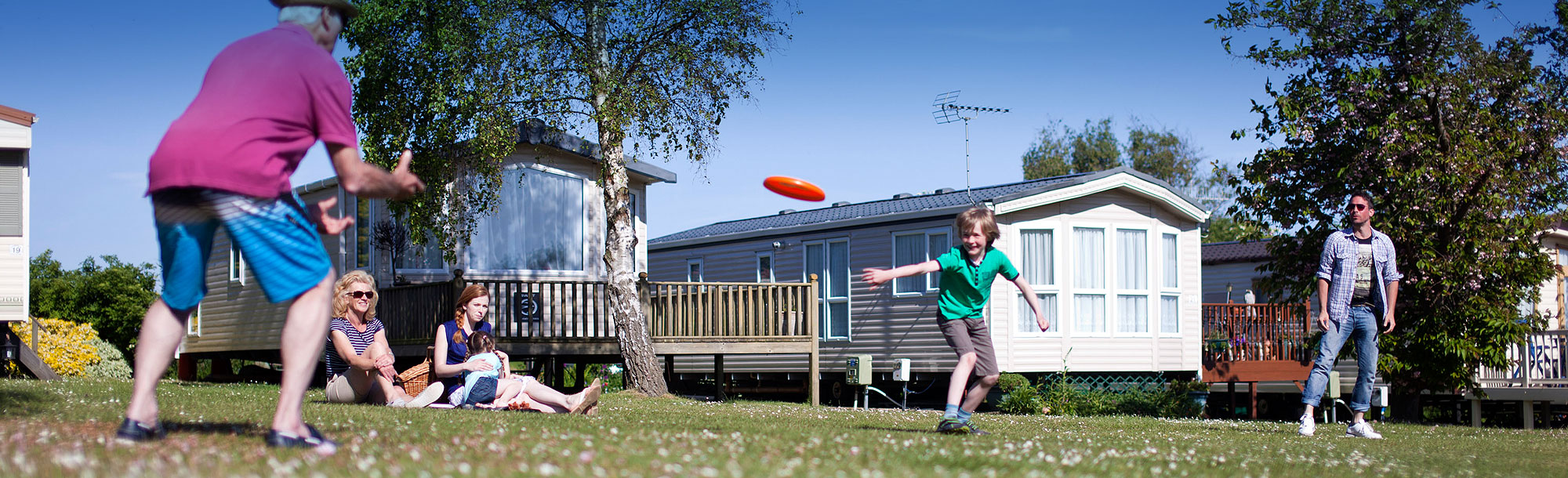 Caravan holidays in Essex