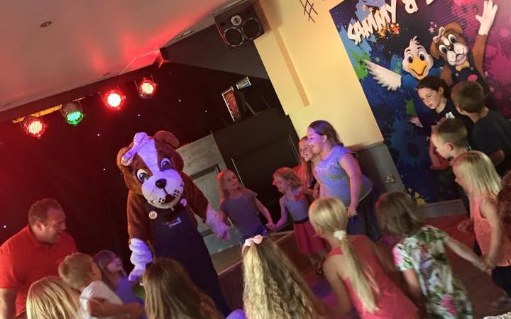 Kids club at Waldegraves