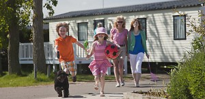 Family static caravan holidays in Essex at Waldegraves Holiday Park, Mersea Island