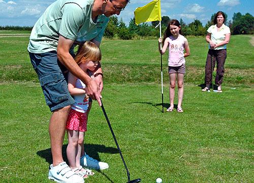 enjoy golf holidays in Essex at Waldegraves