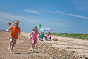 Waldegraves Holiday park in Essex
