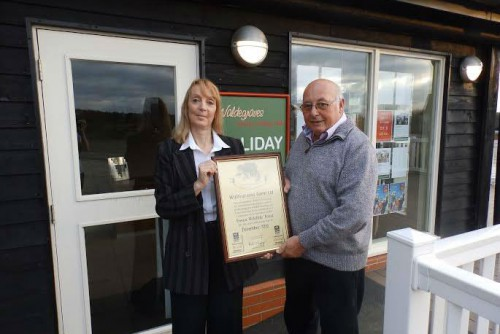 Gold sponsorship status Essex Wildlife Trust