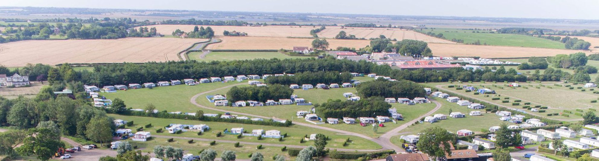 Seasonal pitches in Essex   touring   Waldegraves