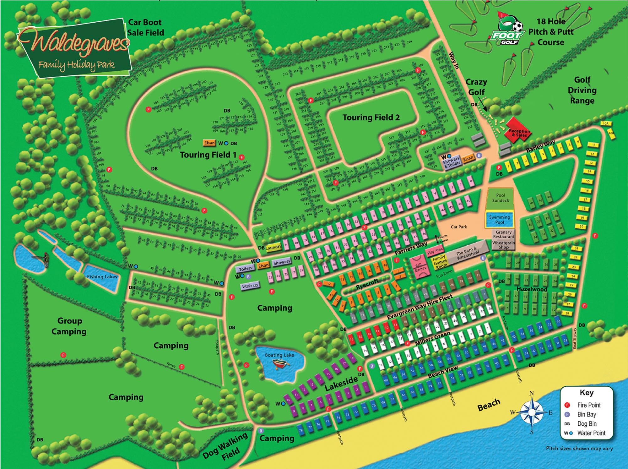 waldegraves-park-map