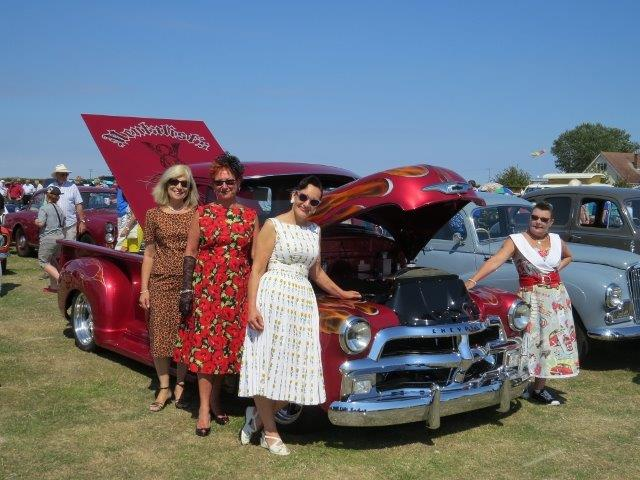 Mersea Island Transport & Summer Show at Waldegraves Holiday Park in Essex