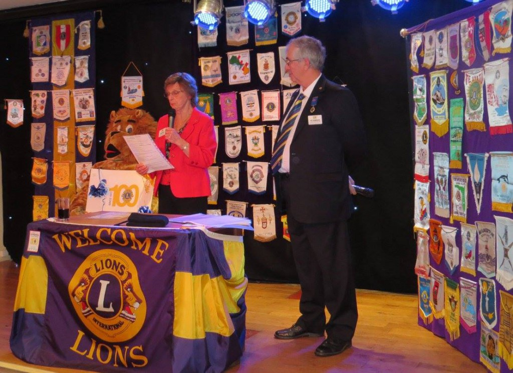 Mersea Island Lions Club Presentation Evening 2017 at Waldegraves Holiday Park in Essex